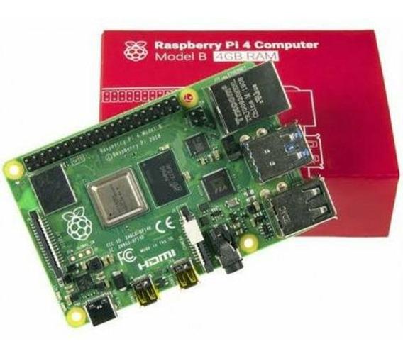 Raspberry Pi 4 Pi4 Model B - 4 Gb Ddr4 - Pi4b Pronta Entrega