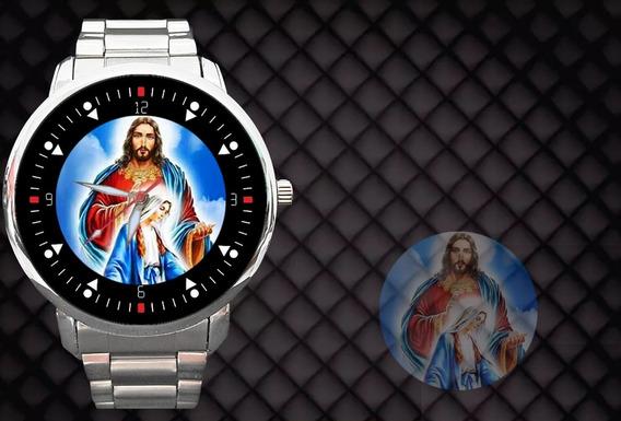 Relógio Cristo Jesus Espírito Santo Deus Maria Católica