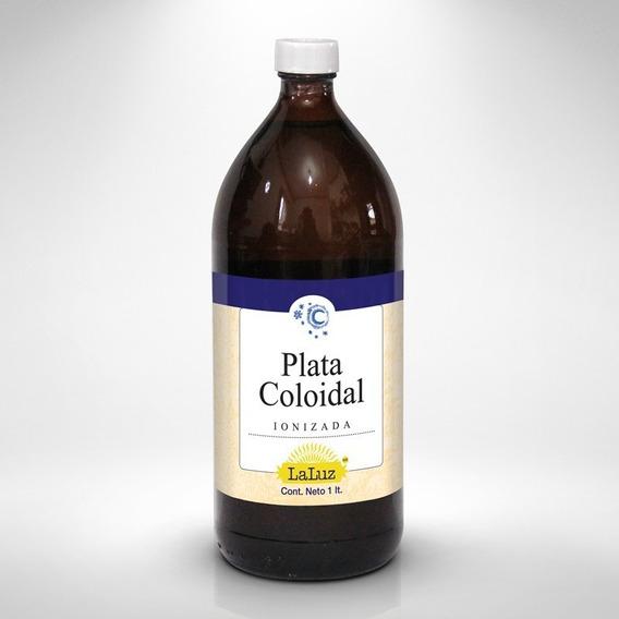 Plata Coloidal Ionizada 1 Lt Antibacterial Anti-viral Antis