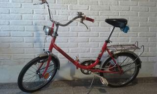 Bicicleta Plegable Olimpia Rodado 20- Única!