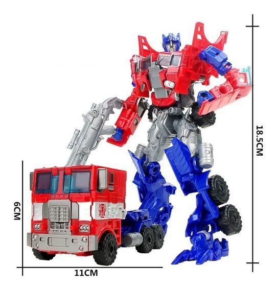 Boneco Transformers Autobots Robo Caminhão Optimus Prime