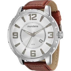 Relógio Mondaine Análogo Social Pulseira Couro 94819g0mvnh1