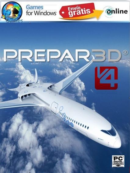 Simulador De Voo Prepar3d V4 Pc Envio Imediato