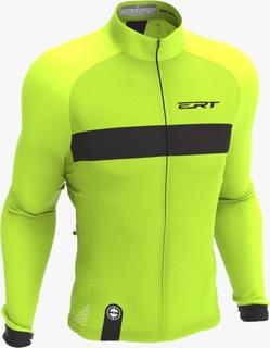 Camisa Ert Manga Longa Nova Tour Strip Green 2020 Bike Mtb