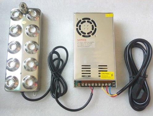 Humificador Ultrasónico 10 Cabezas Para Interiores Exterior
