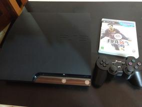 Ps3 Slim Playstation 3 Slim 160gb 1 Controle 1 Jogo Fifa 14