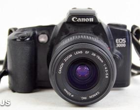 Câmera Fotográfica Analógica ( Filme ) Eos 3000