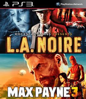 Max Payne 3 + L.a. Noire Ps3 Digital Gcp