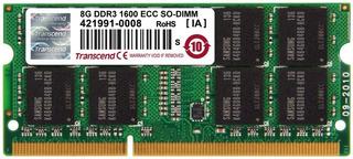 Memoria Ram 8gb Ddr3 1600 Ecc So-dimm Trascend
