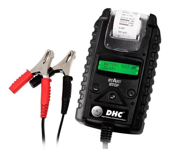 Testador Digital De Bateria Automotivo 6-12v Com Impressora
