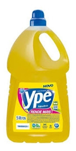 Detergente Ype 5 Litros Neutro