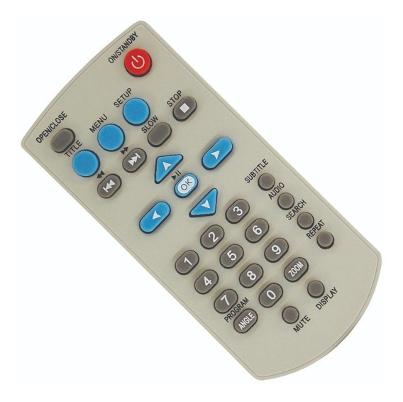 Controle Dvd Gradiente/lenox D203 - 0749