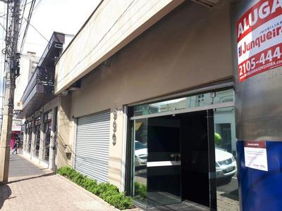 Salão Comercial Para Locação, Centro, Piracicaba. - Sl0382