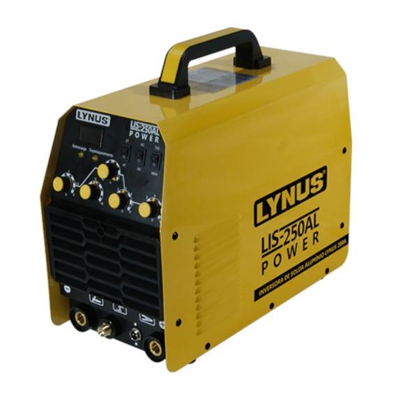 Máquina De Solda Inversora Tig 200a Lis-250al Lynus 220v
