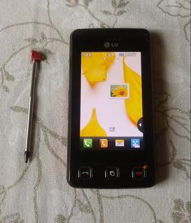 Celular LG Kp570 Cookie Caneta Stylus Embutida E Tela Touch