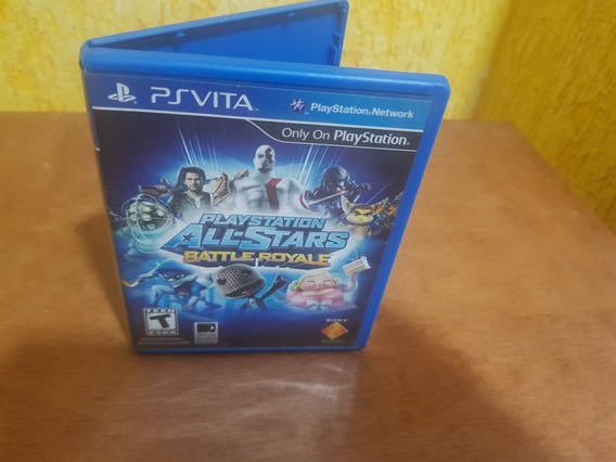 Playstation All Stars Battle Royale Usado Psvita Mídia Físi.