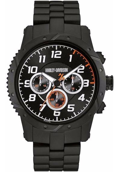 Reloj Harley Davidson 78b138 Para Hombre Envío Gratis Ewatch