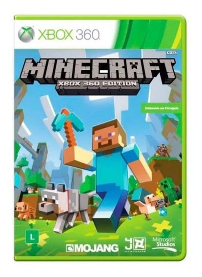 Minecraft Xbox 360 Edition Original Mídia Física