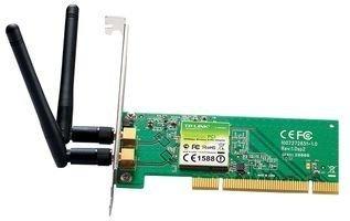 Tp Link Tl-wn851nd Tarjeta De Red Pci 300mbps 2 Antenas