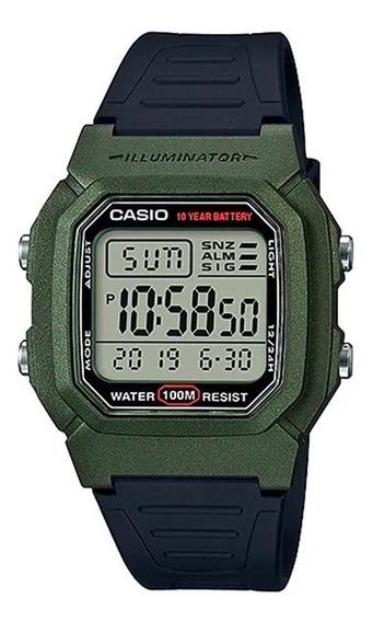 Relógio Casio W-800hm-3avdf Original Nfe + Garantia