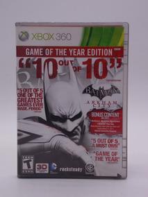 Batman Arkham City Game Of The Year Xbox 360 Original