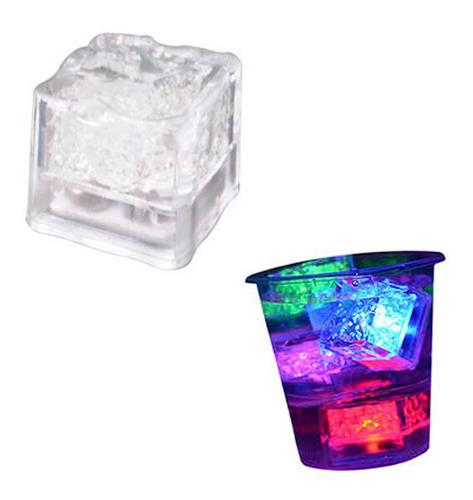 Imagen 1 de 8 de Cubo Led Hielo Luminoso Decorativo Fiestas Eventos 15 Años 3