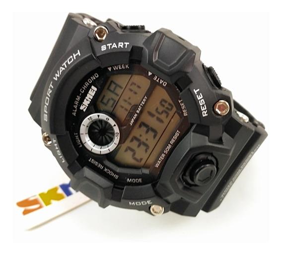Relógios Skmei Digital Modelo1019 Pulseira De Borracha
