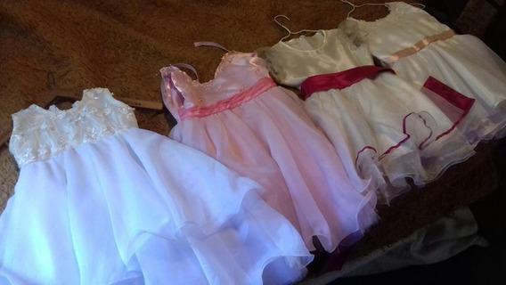 Vestidos Fiesta Nena 1 Y 2 Años Alta Costura Exclusivos