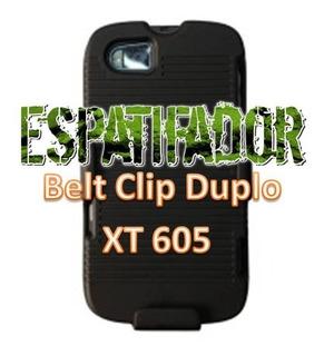 Clip De Cinto Combo 2 Partes Nextel Master Xt605 + Pelicula