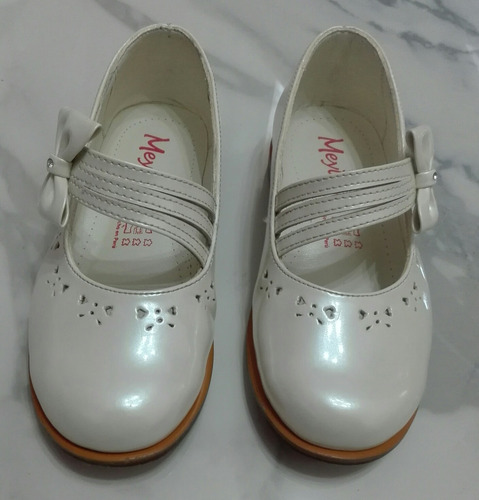 Zapatos De Vestir De Charol Perla Marca Meylin Original