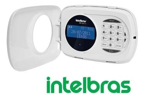 Teclado Lcd Xat 2000 Para Centrais De Alarme - Intelbras