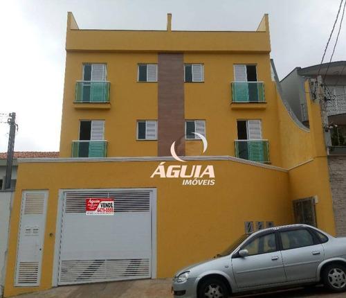 Cobertura Com 2 Dormitórios À Venda, 53 M² Por R$ 385.000,00 - Parque Das Nações - Santo André/sp - Co0797