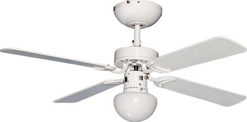 Imagen 1 de 2 de Ventilador Abanico De Techo Con Luz Condesa 42 Masterfan