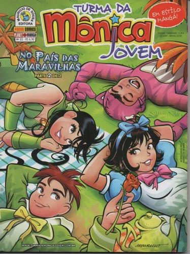 Revista Turma Da Mônica Jovem 22