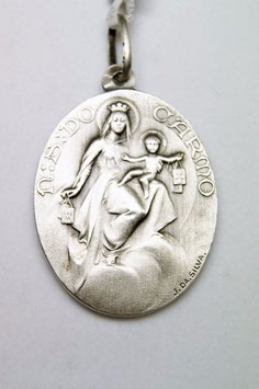 Medalha Escapulário, Nossa Senhora Do Carmo E Sagrado Coraçã