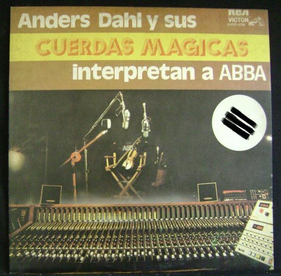 Anders Dahl Cuerdas Magicas-abba-lp Vinilo Promo 10 Puntos