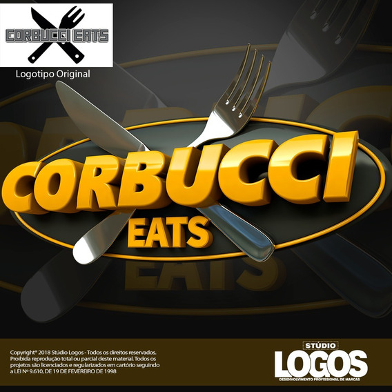 Criação De Logo Logotipo Logomarca - Arte Profissional 3d