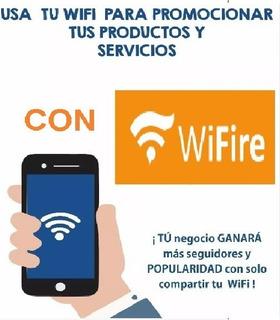 Marketing Wifi Social Like/check-in En Face Prueba 15 Dias