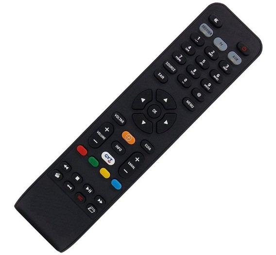 Controle Remoto Receptor Digital Gvt Mxt 01255