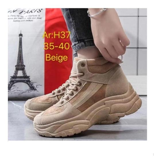 Botas Mujer Invierno Botines Negras // Zapatos Agta