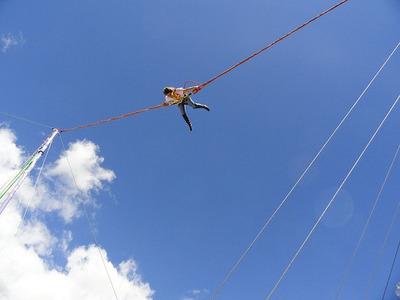 Bungee Trampolin, Bungee Jumping, Catapulta, Cauchera Humana