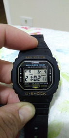 Relógio Casio G Shock Dw 5200 Série Ouro, Lindo E Sem Erros!