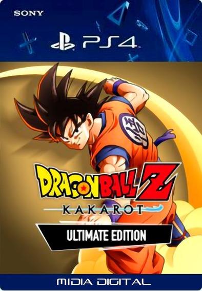 Dragon Ball Z: Kakarot Ultimate Edition Ps4 User1 Vitalício