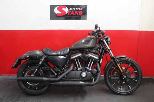 Harley Davidson Sportster Xl 883 N Iron 883 Abs 2018 Cinza