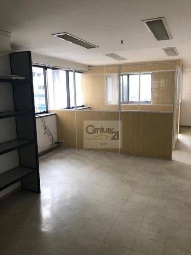 Imagem 1 de 12 de Conjunto Para Alugar, 50 M² Por R$ 3.600,00/mês - Higienópolis - São Paulo/sp - Cj0112