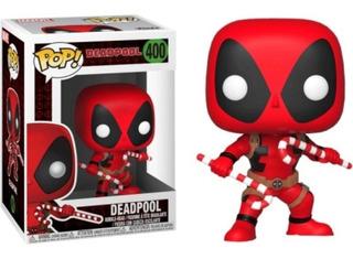 Funko Pop!   Marvel - Deadpool Navideño 400 Original