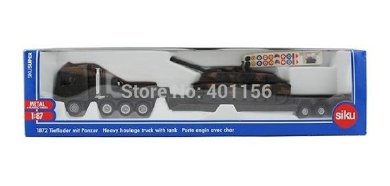 Siku 1/87 Caminhão De Transporte Com Tanque