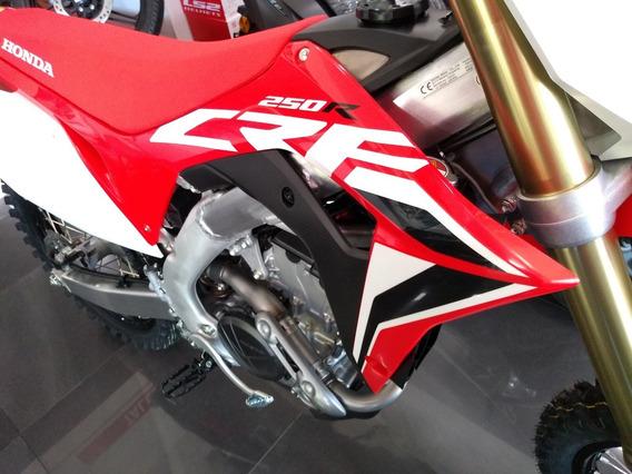 Honda Crf 250r 0km 2020!!! De Regalo 2 Cubiertas Dunlop Mx12