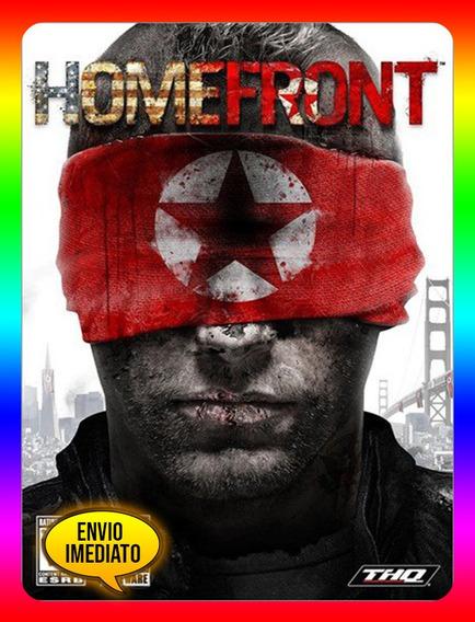 Homefront Pc - Steam Key (envio Já)