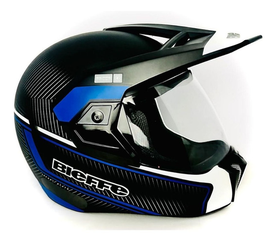 Capacete Bieffe Moto 3 Sport Stato Cross Masculino Feminino